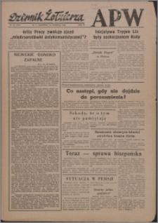 Dziennik Żołnierza APW Wydanie polowe B 1946.04.18, R. 4 nr 93