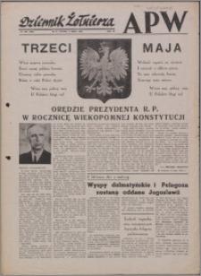 Dziennik Żołnierza APW Wydanie polowe B 1946.05.03, R. 4 nr 105