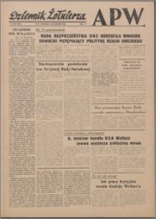 Dziennik Żołnierza APW Wydanie polowe B 1946.09.22, R. 4 nr 227
