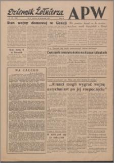 Dziennik Żołnierza APW Wydanie polowe B 1946.09.28, R. 4 nr 232