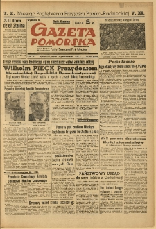 Gazeta Pomorska, 1949.10.12, R.2, nr 281