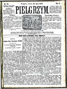 Pielgrzym, pismo religijne dla ludu 1878 nr 84