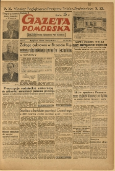 Gazeta Pomorska, 1949.11.01, R.2, nr 301