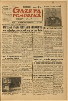Gazeta Pomorska, 1949.11.09, R.2, nr 309