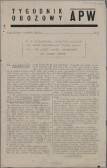 Tygodnik Obozowy APW 1944 nr 23