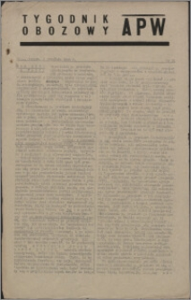 Tygodnik Obozowy APW 1944 nr 24