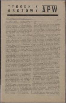 Tygodnik Obozowy APW 1944 nr 25
