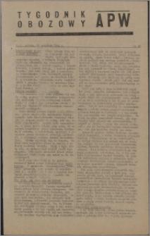 Tygodnik Obozowy APW 1944 nr 26
