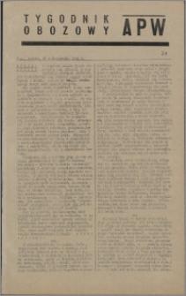 Tygodnik Obozowy APW 1944 nr 31