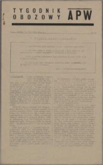 Tygodnik Obozowy APW 1944 nr 33