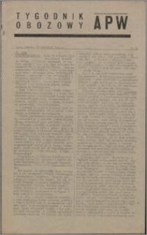 Tygodnik Obozowy APW 1944 nr 34
