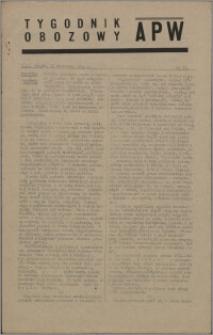 Tygodnik Obozowy APW 1944 nr 35