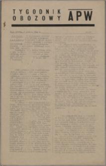 Tygodnik Obozowy APW 1944 nr 36