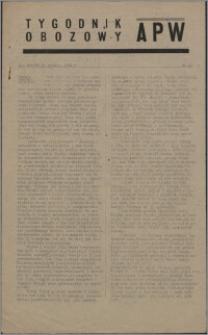 Tygodnik Obozowy APW 1944 nr 40