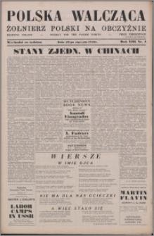 Polska Walcząca - Żołnierz Polski na Obczyźnie 1946.01.26, R. 8 nr 4