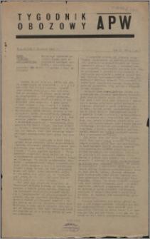 Tygodnik Obozowy APW 1945, R. 2 nr 1 (41)