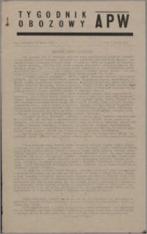 Tygodnik Obozowy APW 1945, R. 2 nr 12 (52)