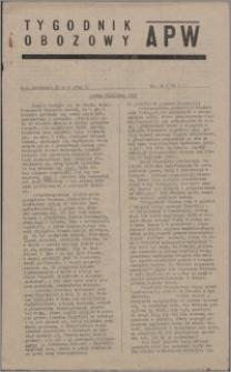 Tygodnik Obozowy APW 1945, R. 2 nr 20 (60)