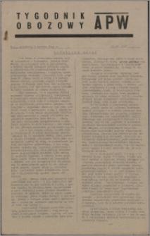 Tygodnik Obozowy APW 1945, R. 2 nr 22 (62)