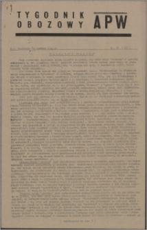 Tygodnik Obozowy APW 1945, R. 2 nr 25 (65)