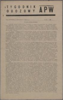 Tygodnik Obozowy APW 1945, R. 2 nr 40 (80)