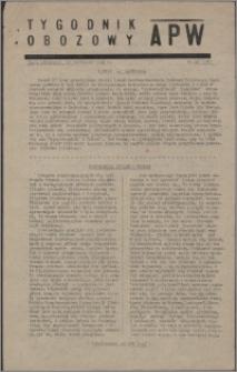 Tygodnik Obozowy APW 1945, R. 2 nr 45 (85)