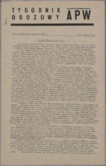 Tygodnik Obozowy APW 1945, R. 2 nr 51 (91)