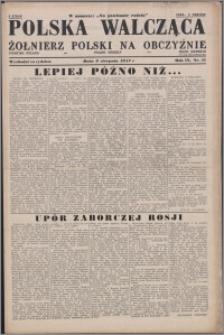 Polska Walcząca - Żołnierz Polski na Obczyźnie 1947.08.09, R. 9 nr 31