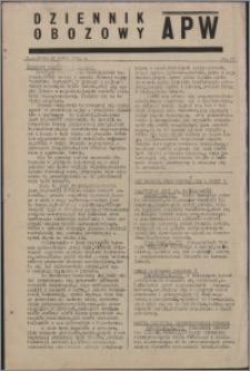Dziennik Obozowy APW 1944.03.15 nr 37