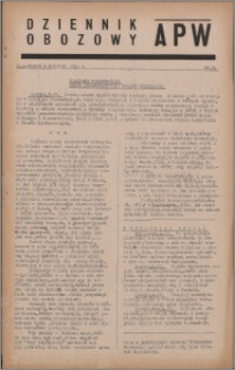 Dziennik Obozowy APW 1944.04.04 nr 54