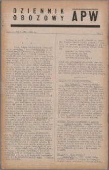 Dziennik Obozowy APW 1944.04.07 nr 57