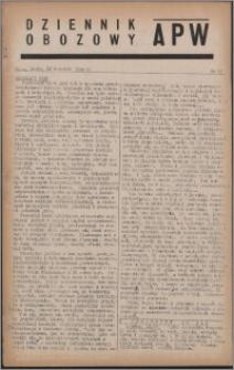 Dziennik Obozowy APW 1944.04.12 nr 59
