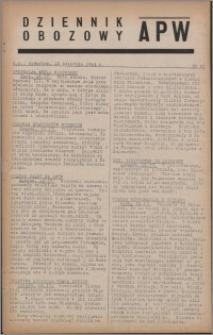 Dziennik Obozowy APW 1944.04.13 nr 60
