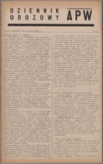 Dziennik Obozowy APW 1944.04.14 nr 61