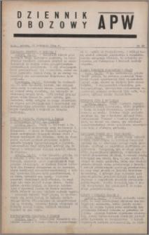 Dziennik Obozowy APW 1944.04.15 nr 62