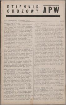 Dziennik Obozowy APW 1944.04.17 nr 63