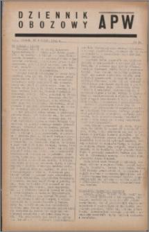 Dziennik Obozowy APW 1944.04.18 nr 64