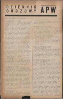 Dziennik Obozowy APW 1944.04.19 nr 65