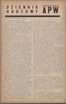 Dziennik Obozowy APW 1944.04.21 nr 67