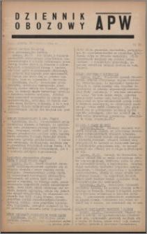 Dziennik Obozowy APW 1944.04.22 nr 68