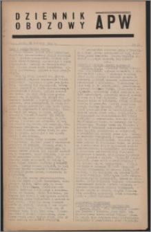 Dziennik Obozowy APW 1944.04.26 nr 71