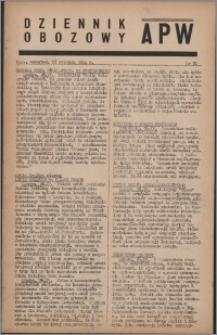 Dziennik Obozowy APW 1944.04.27 nr 72