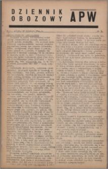 Dziennik Obozowy APW 1944.04.29 nr 74
