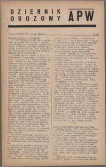 Dziennik Obozowy APW 1944.05.01 nr 75