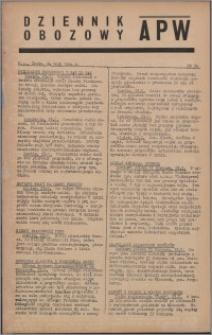 Dziennik Obozowy APW 1944.05.24 nr 94