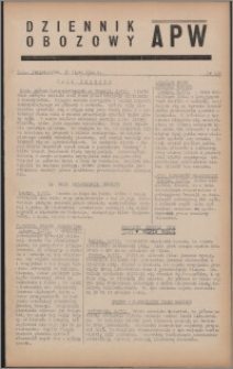 Dziennik Obozowy APW 1944.07.10 nr 132