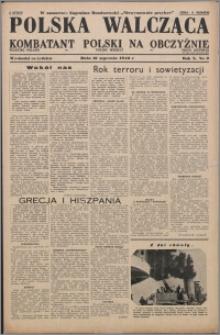 Polska Walcząca - Kombatant Polski na Obczyźnie 1948.01.10, R. 10 nr 2