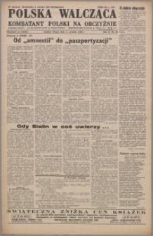 Polska Walcząca - Kombatant Polski na Obczyźnie 1948.12.11, R. 10 nr 50