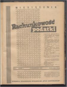 Rachunkowość - Podatki 1947, R. 1 nr 4
