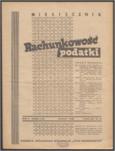 Rachunkowość - Podatki 1948, R. 2 nr 3 (9)